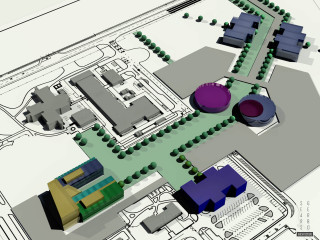 3d model from Tucson architectural firm