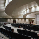 Amazing architectural work on an auditorium, by Sears Gerbo