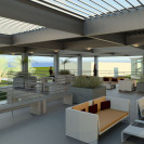 Architectural roof deck design