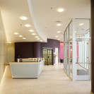 Indoor commercial architecture