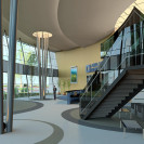 Lobby architectural design